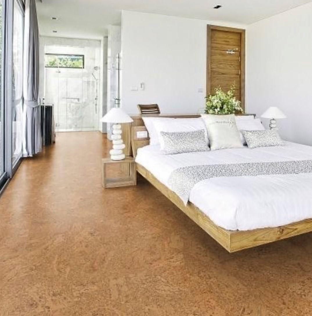cork flooring in ocean grove bedroom