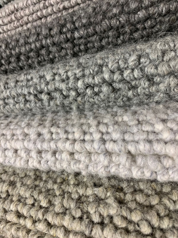 wool loop combo carpets found in Geelong